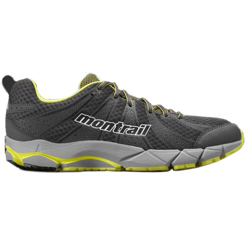Chaussures de course sur sentier FluidFeel II Grill/Blanc