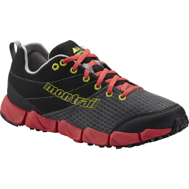 Chaussures de course sur sentier FluidFlex II Grill/Chartreuse
