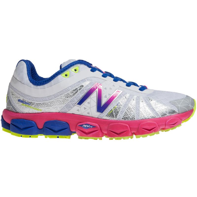 W890v4 Road Running Shoes White/Purple