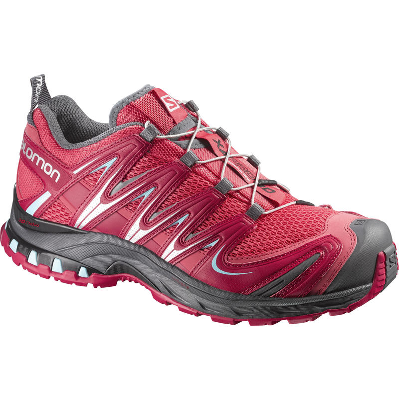 Xa Pro 3D Trail Running Shoes Papaya/Lotus Pink