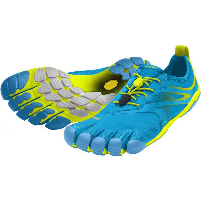 Chaussures FiveFingers Bikila EVO Bleu/Jaune