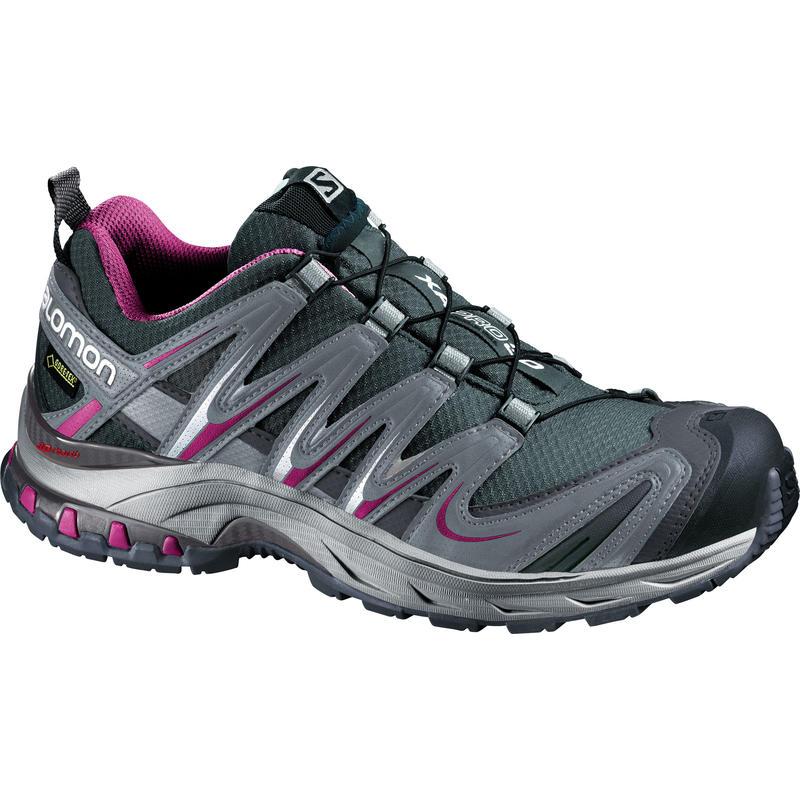 Chaussures de course sur sentier XA Pro 3D GTX Grey Denim/Mystic Purple