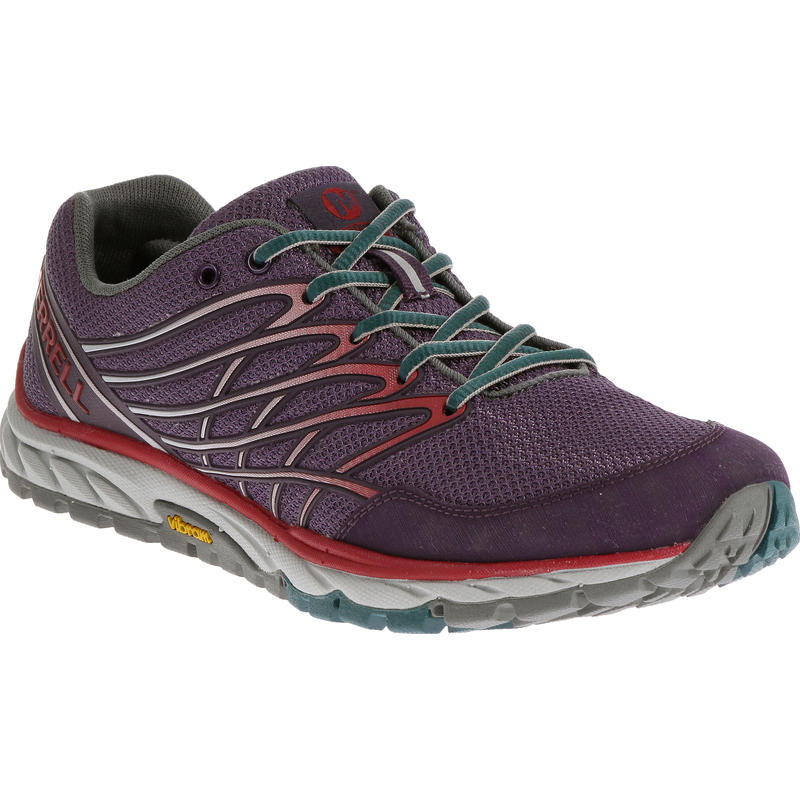 Chaussures Bare Access Trail Prune sauvage/Rouge