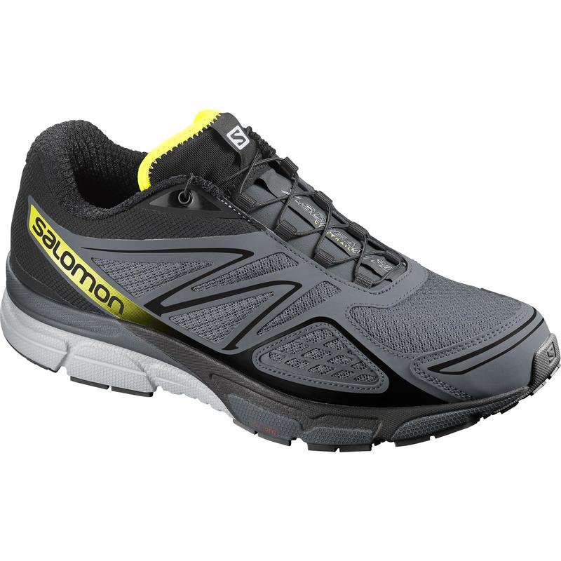 X-Scream 3D Trail Running Shoes Grey Denim/Black