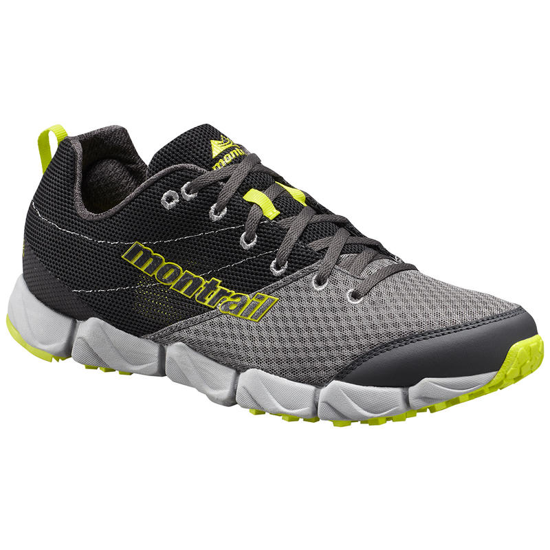 Fluidflex II Trail Running Shoes Quarry/Chartreuse
