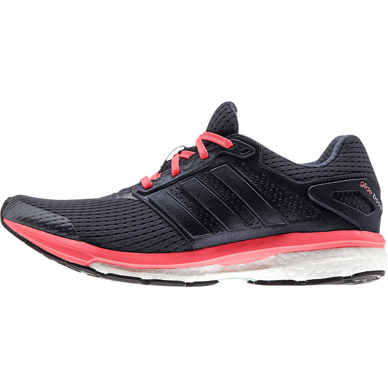 Supernova Glide 7 Road Running Shoes Night Navy/Flash Red