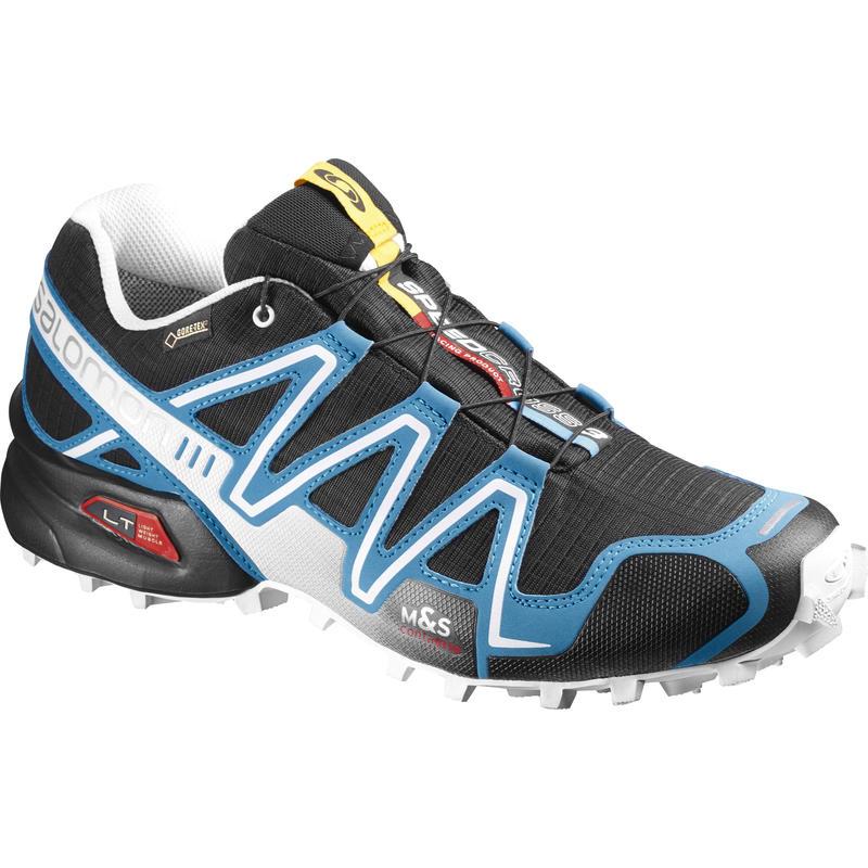 Speedcross 3 GTX Trail Running Shoes Black/Methyl Blue