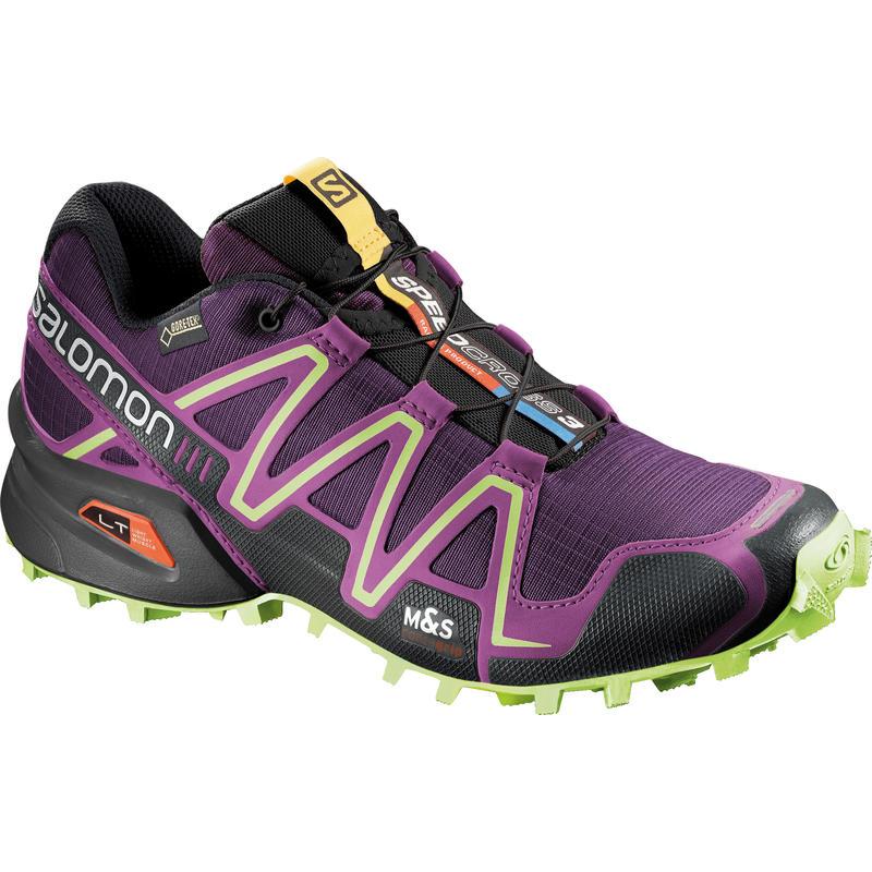 Chaussures de course sur sentier Speedcross 3 GTX Pourpre cosmique/Pourpre passion