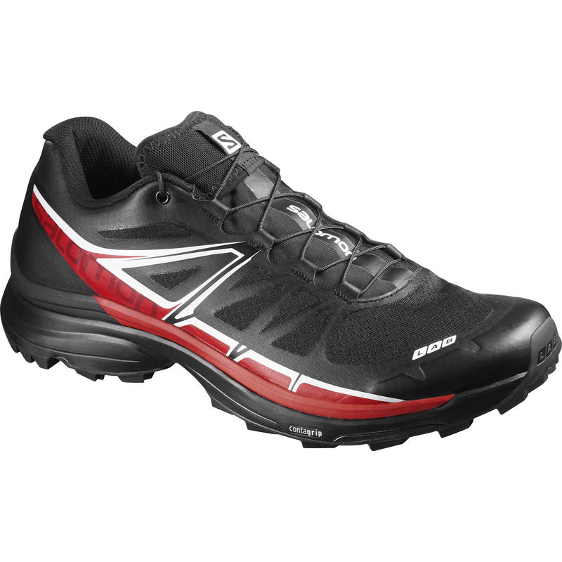 S-Lab Wings SG Trail Running Shoes Racing Red/Black