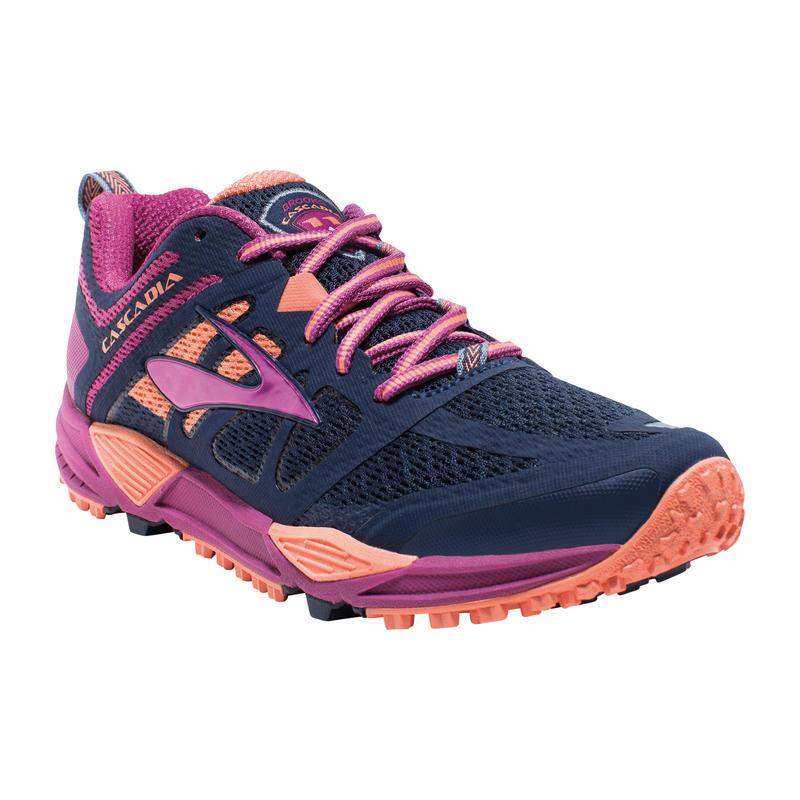 Cascadia 11 Trail Running Shoes Peacoat/Baton Rouge