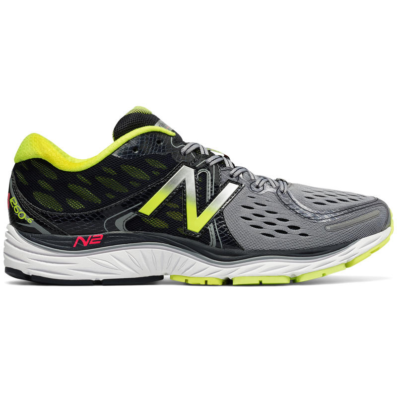 1260v6 Road Running Shoes Grey/Yellow