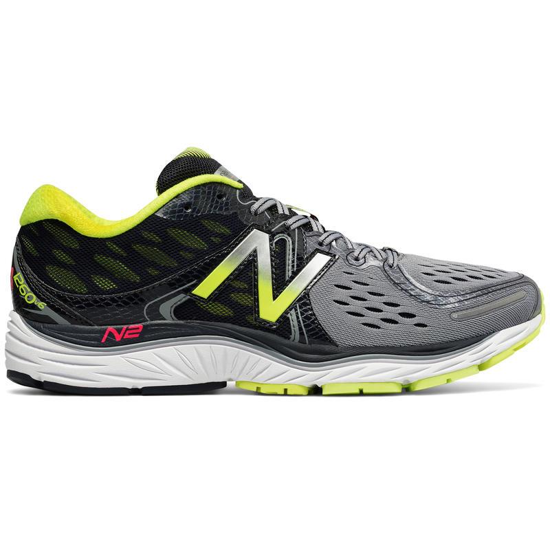 1260v6 Road Running Shoes Grey/Yellow