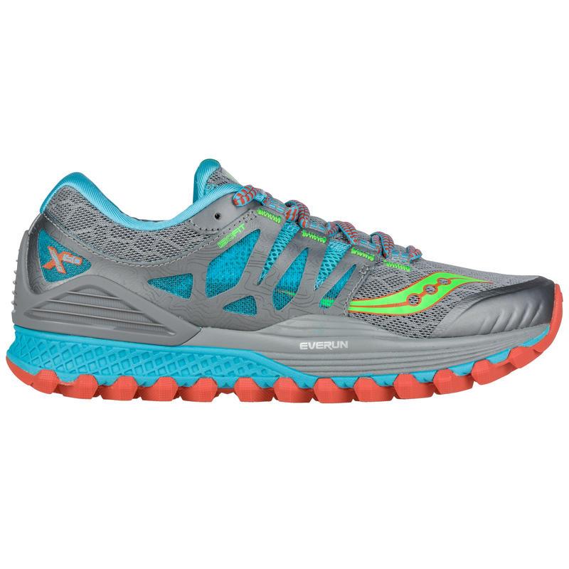 Chaussures de course sur sentier Xodus ISO Gris/Bleu