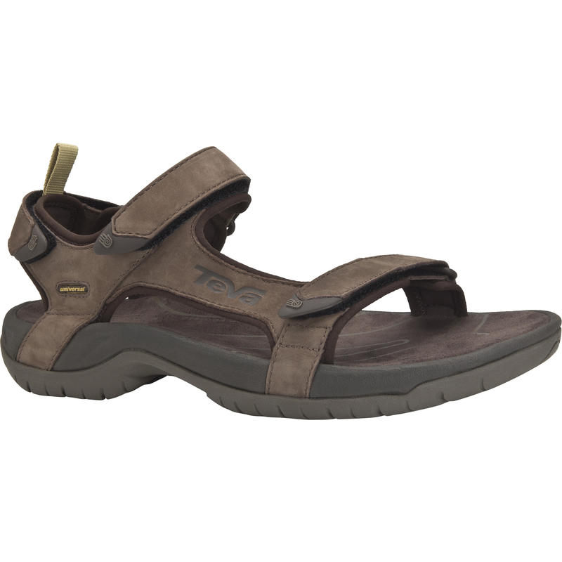 Tanza Leather Sandals Brown