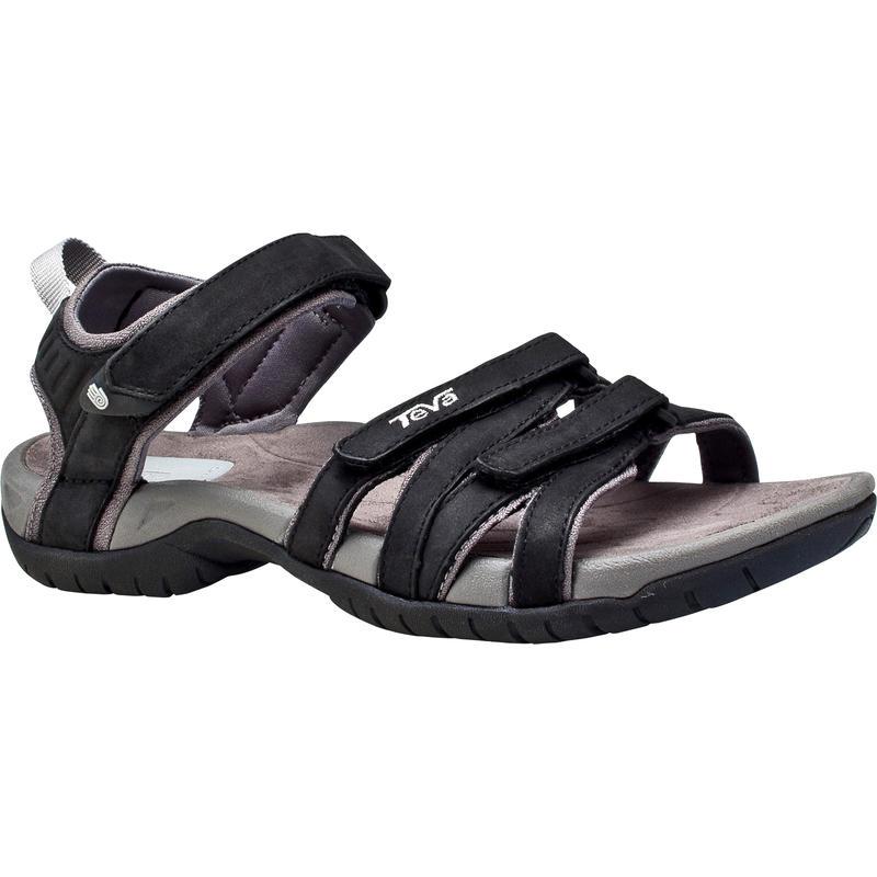 Sandales en cuir Tirra Noir
