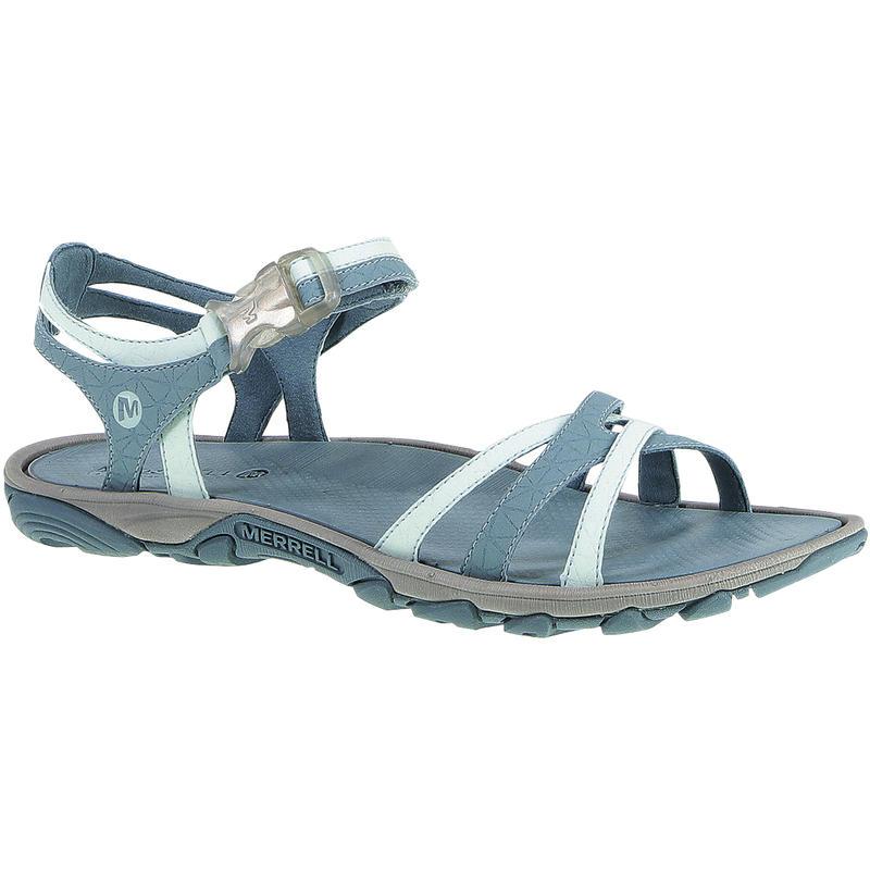 Sandales Enoki Bleu coquille d