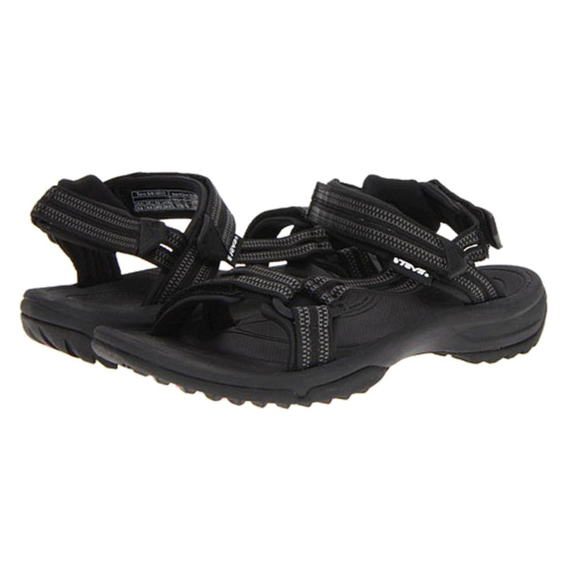 Sandales Terra Fi Lite Double Zipper Black