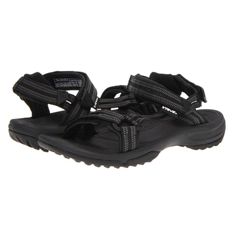Sandales Terra Fi Lite Double Zipper Black