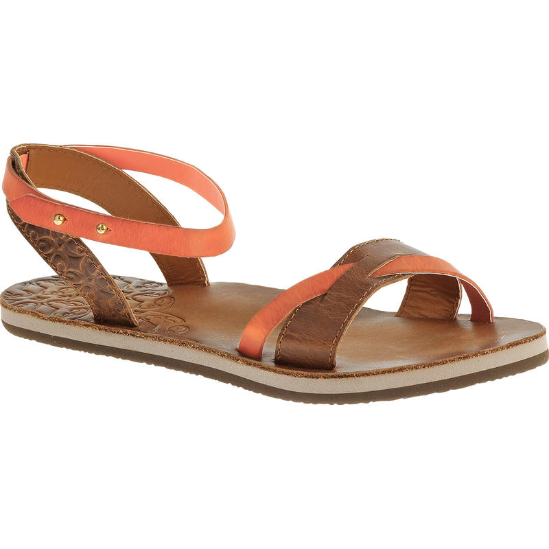 Fresh Twist Sandals Tan/Papaya