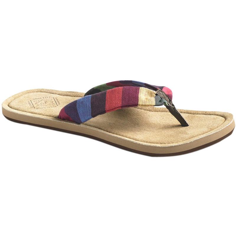 Sandales Kitz Rayures rouille