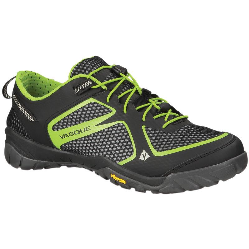 Chaussures Lotic Noir jais/Vert lime