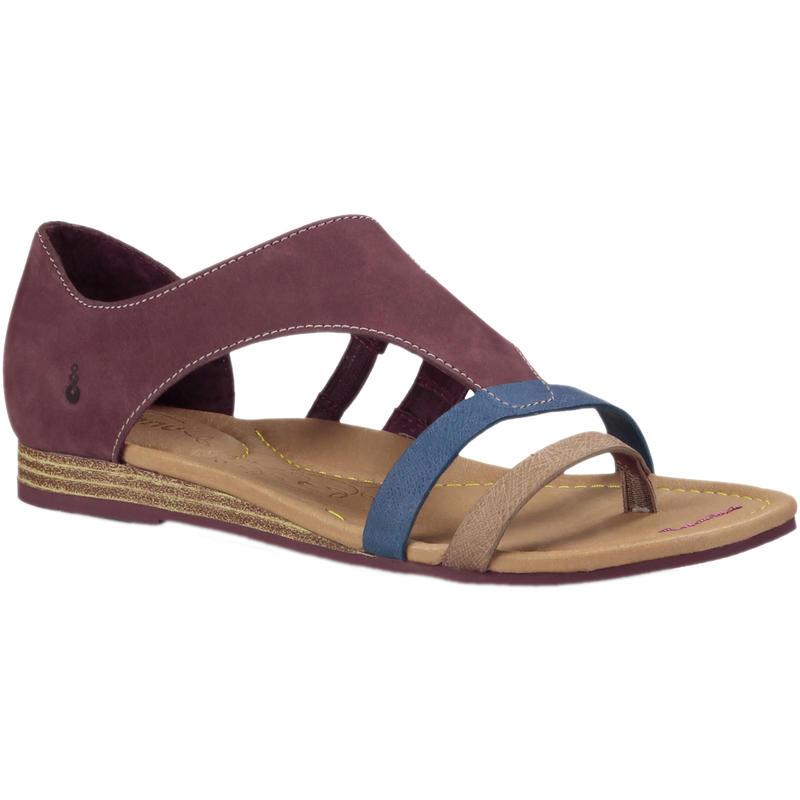 Sandales Capitola Aubergine