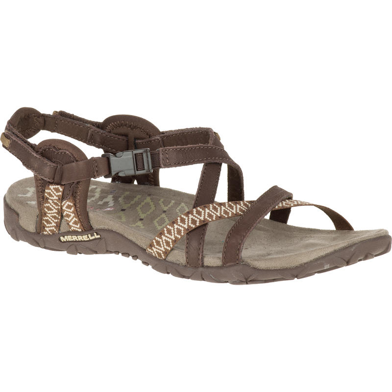 Terran Lattice II Sandals Dark Earth