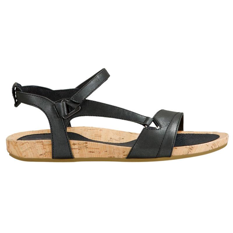Capri Universal Sandals Pearlized Black