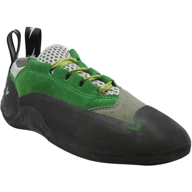 Chaussons à lacets Spark Vert/Gris