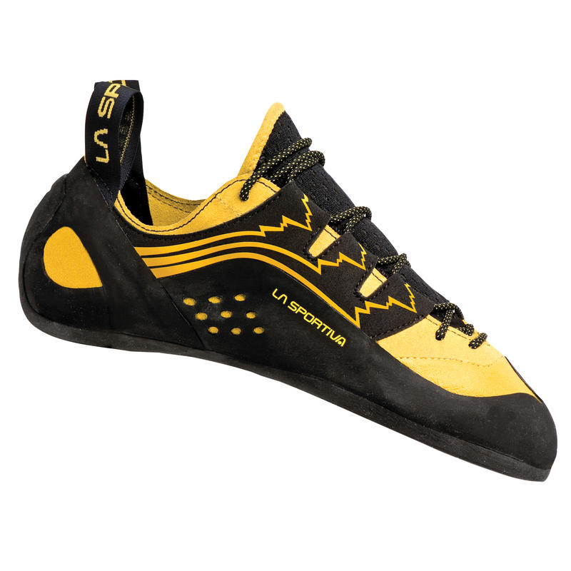 Chaussons Katana Lace Up Jaune
