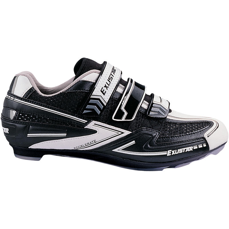 Chaussures de vélo de route E-SR431 / 432 Noir/Blanc