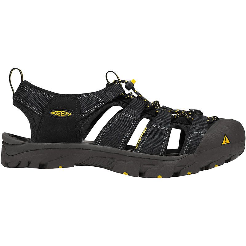 Commuter Cycling Shoes Black/Yellow