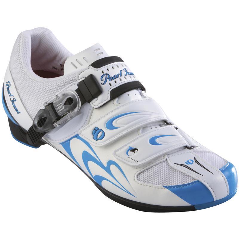Chaussures de vélo de route Race RD II Blanc/Noir