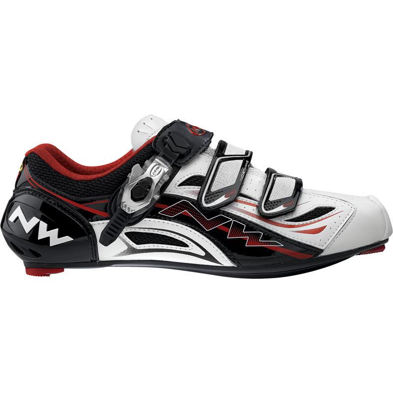 Typhoon EVO SBS Cycling Shoes White/Black