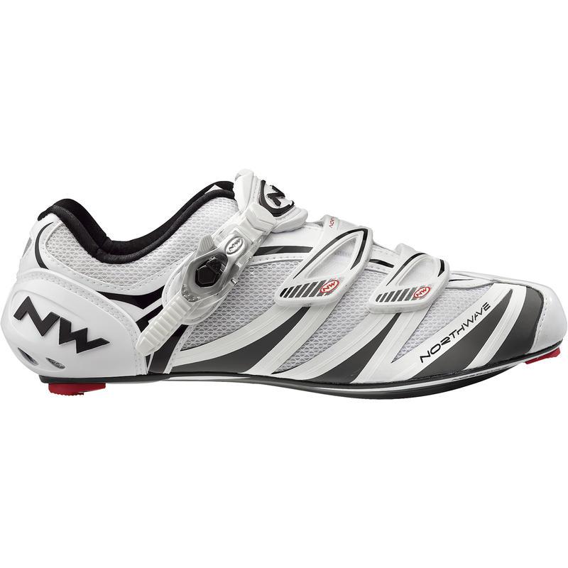 Chaussures de vélo de route Evolution SBS Blanc