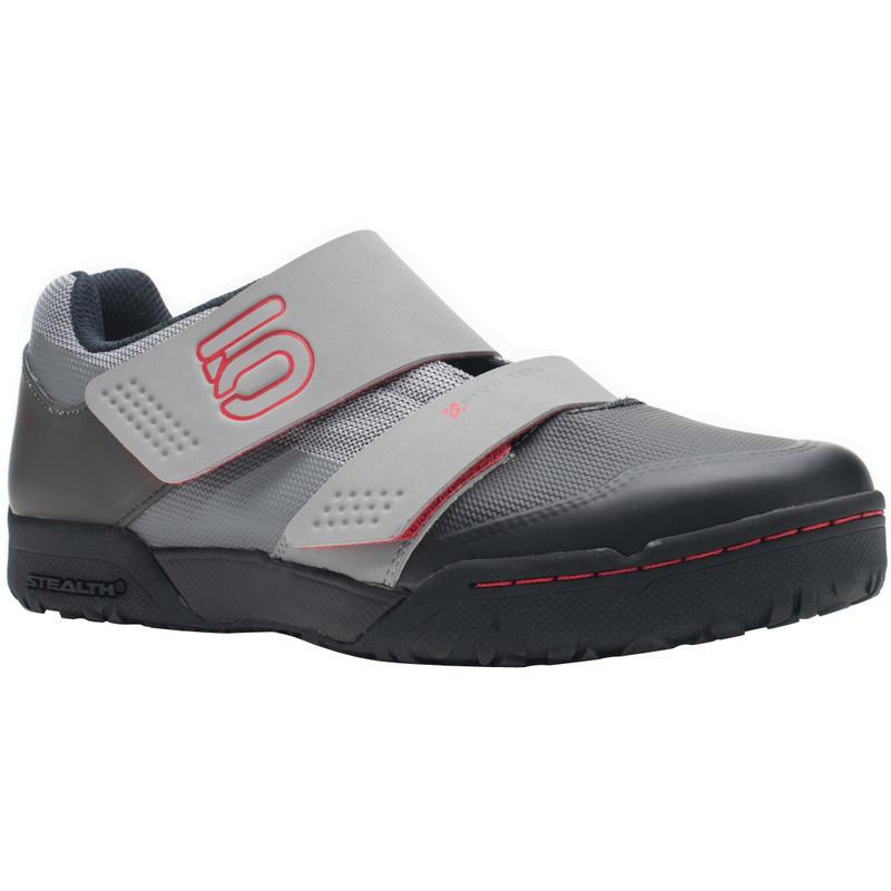 Chaussures de vélo Maltese Falcon LT Mono gris/Rouge