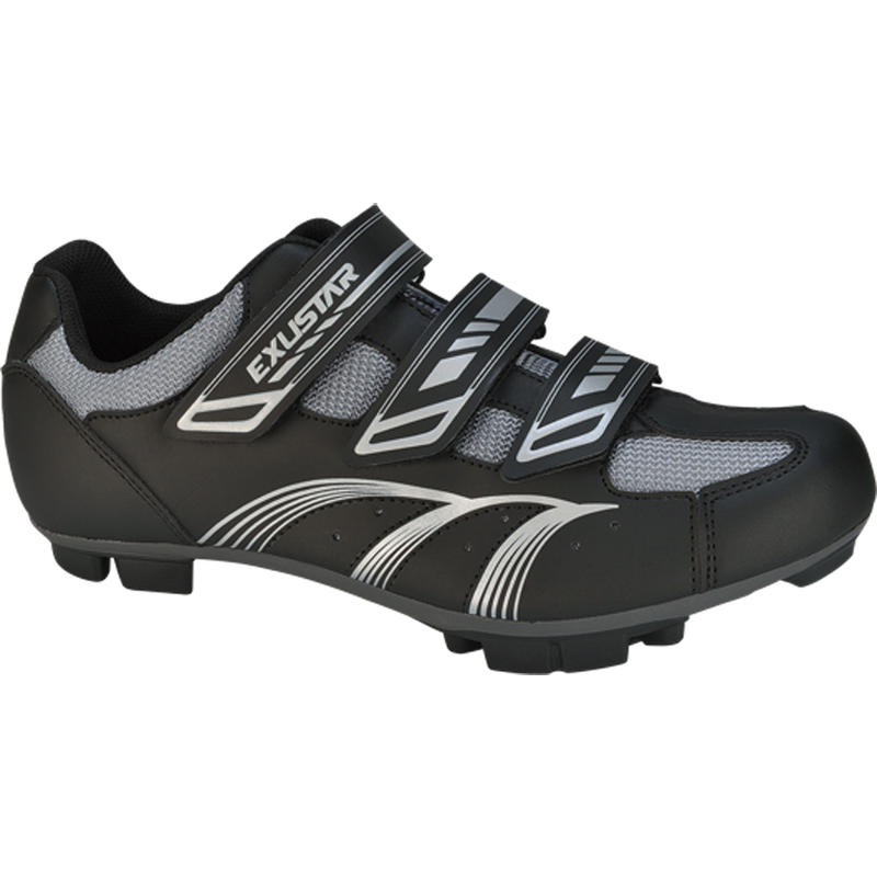 SM346 Mountain Cycling Shoes Black/Silver