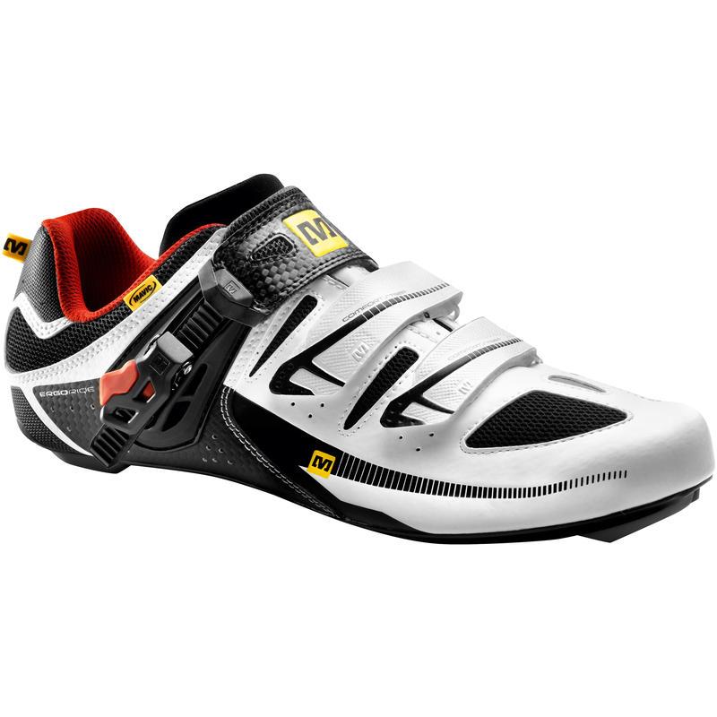 Chaussures de vélo de route Avenge Maxi Noir/Blanc