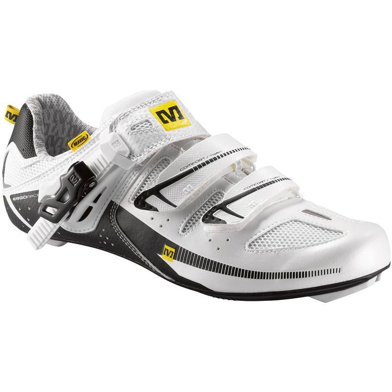 Chaussures de vélo de route Giova Blanc perle/Blanc