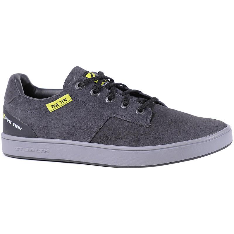 Chaussures de vélo Sleuth Kids Noir/Punch lime