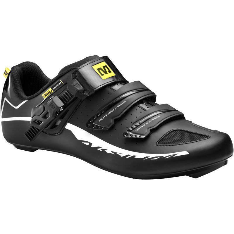 Chaussures de vélo Aksium Elite Maxi Noir/Blanc