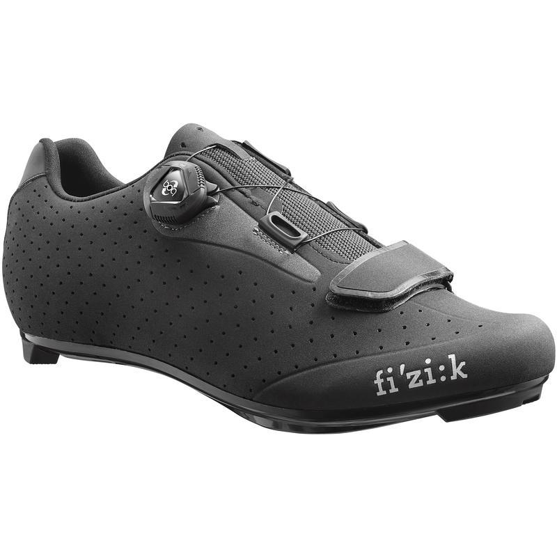 Chaussures de vélo R5B Uomo Noir/Gris foncé