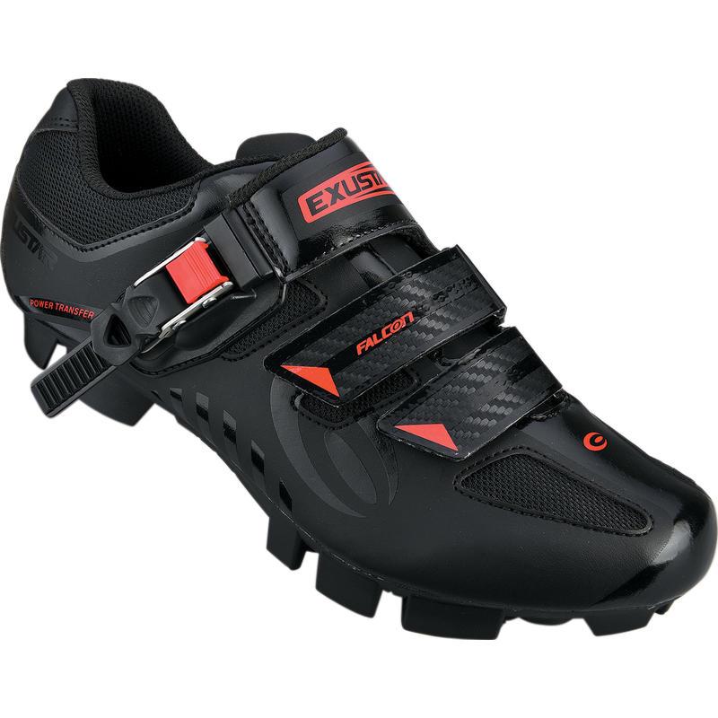 Chaussures de vélo de montagne SM364-RD Noir/Rouge