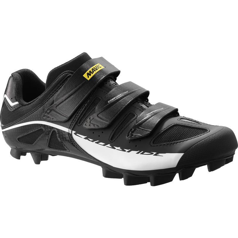 Chaussures de vélo Crossride SL Noir/Blanc