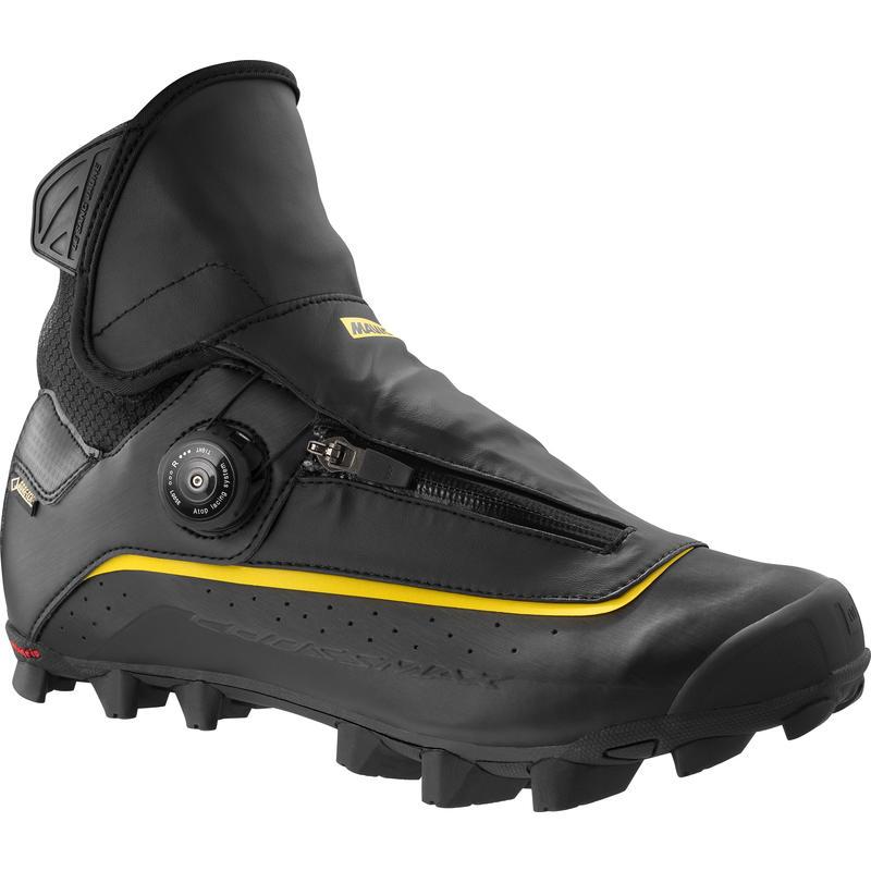 Chaussures de vélo Crossmax SL Pro Thermo Noir/Jaune