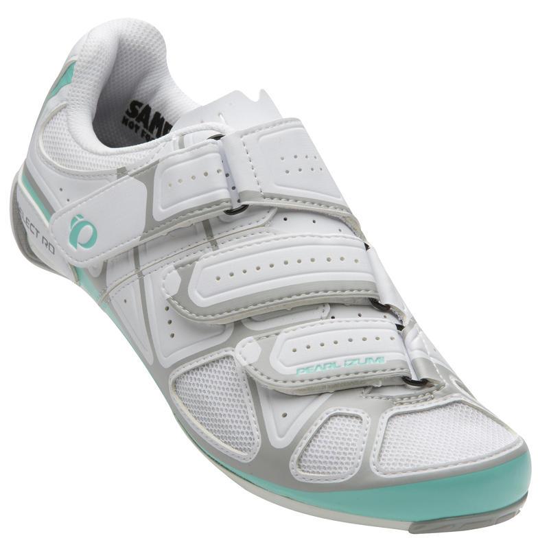 Select RD IV Cycling Shoes White/Aqua Mint