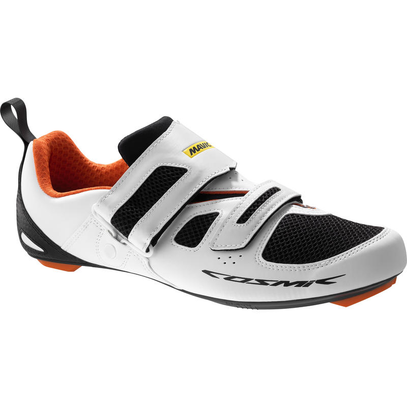 Cosmic Elite Tri Cycling Shoes White