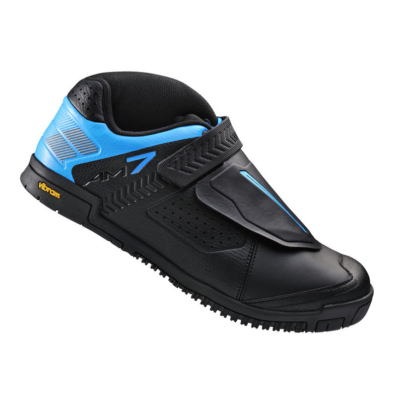 SH-AM7 Cycling Shoes Black