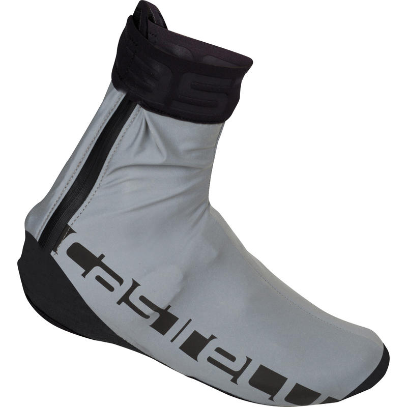 Reflex Shoe Covers Reflective Silver