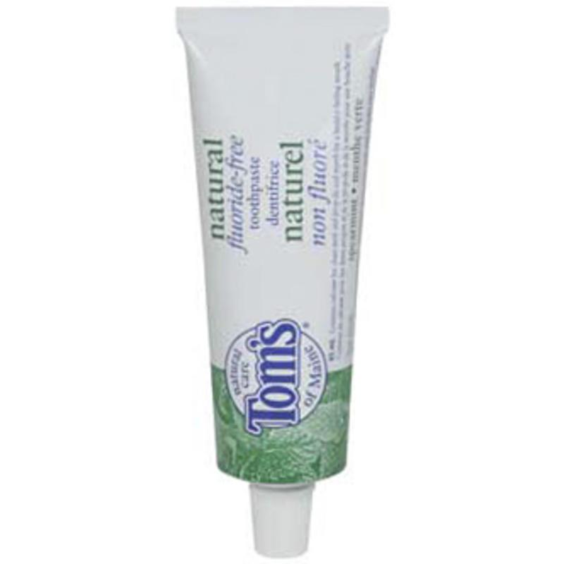 Spearmint Fluoride-Free Toothpaste 85ml